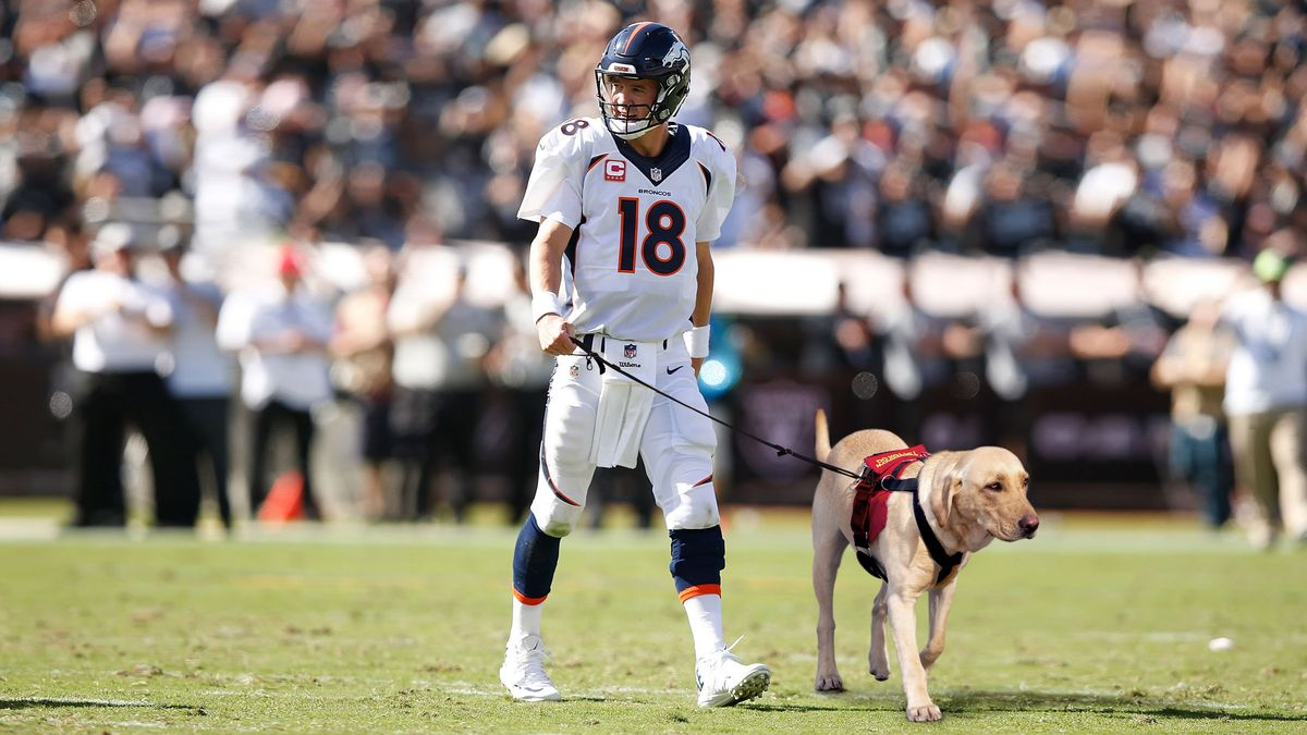 Aging Peyton Manning Now Forced To Take Field With